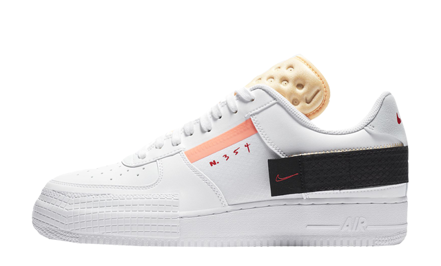 Nike Air Force 1 Type White Melon Tint