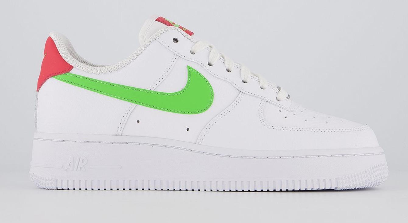 Nike Air Force 1 White Green Strike