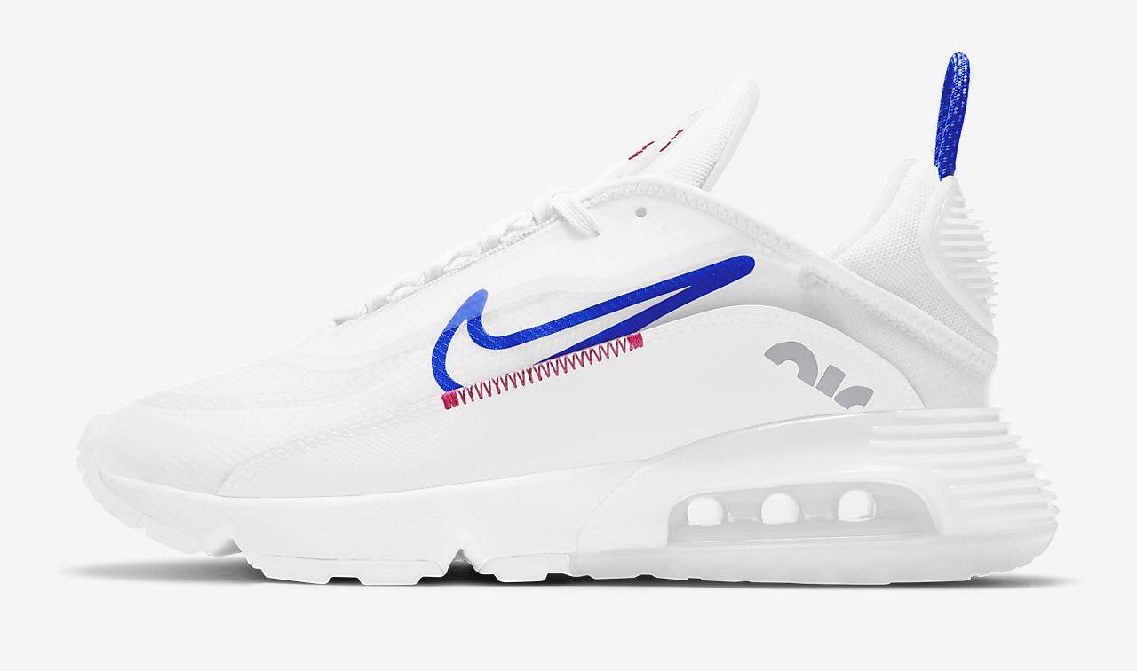 Nike Air Max 2090 White Racer Blue