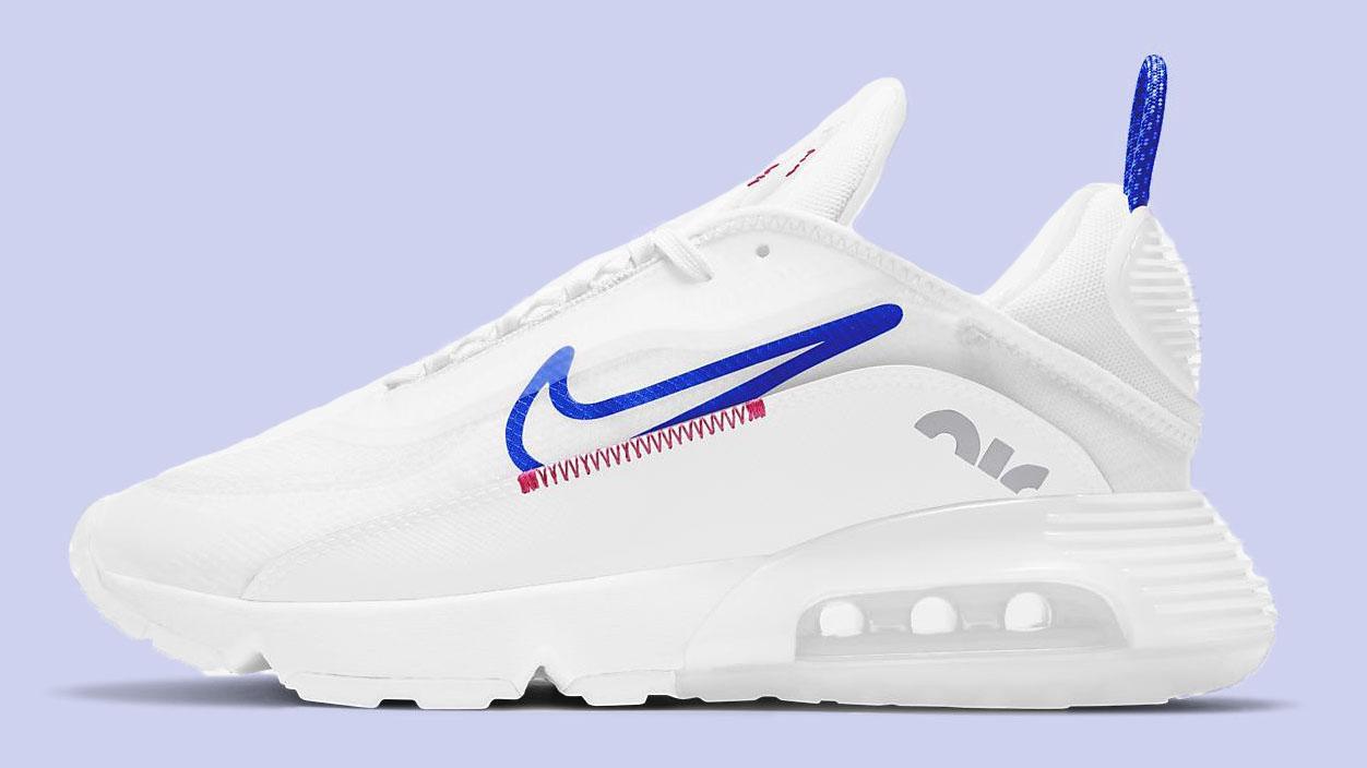 Nike Air Max 2090 White Racer Blue copy