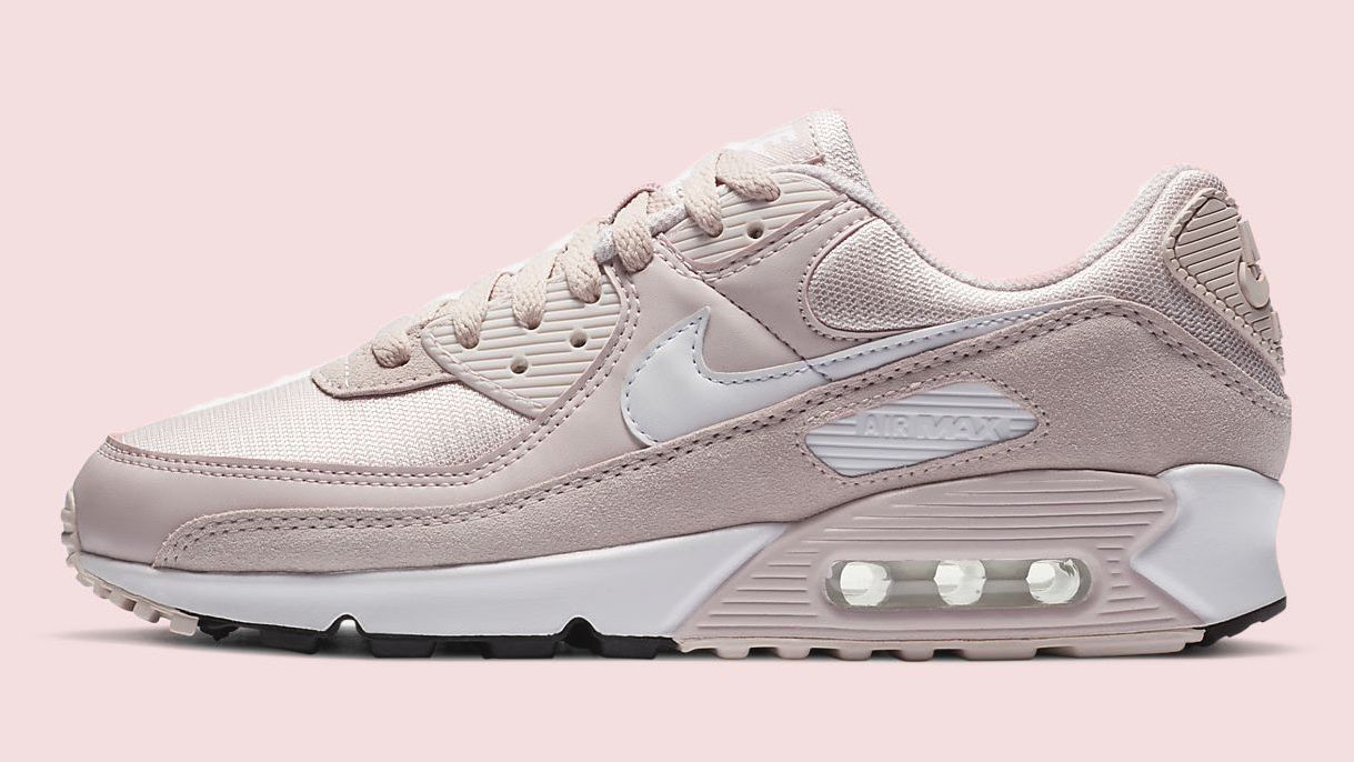 Nike Air Max 90 Barely Rose side copy