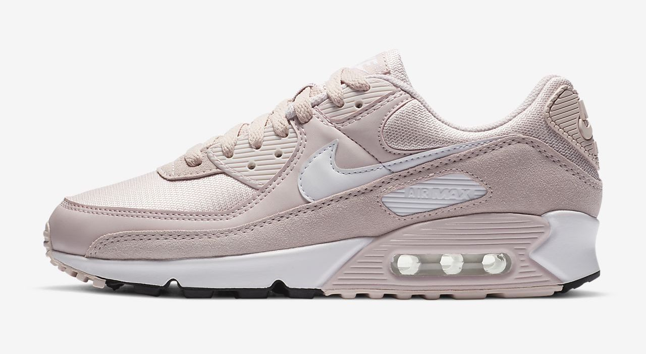 Nike Air Max 90 Barely Rose side