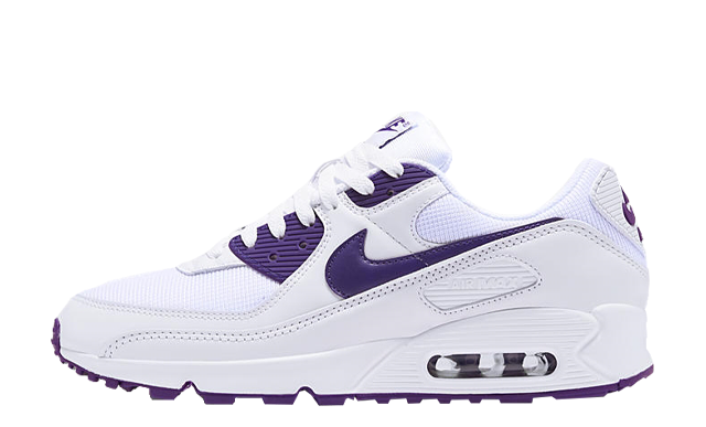 Nike Air Max 90 White Court Purple