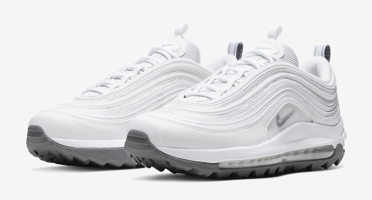 Nike Air Max 97 G White Front