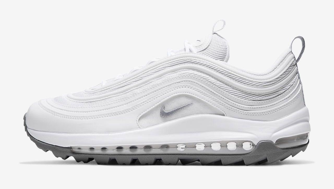 Nike Air Max 97 G White side