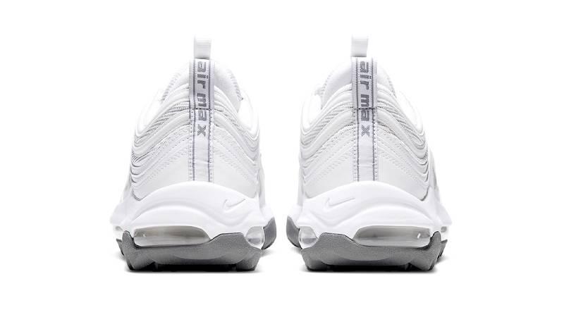 Nike Air Max 97 Golf Triple White Back