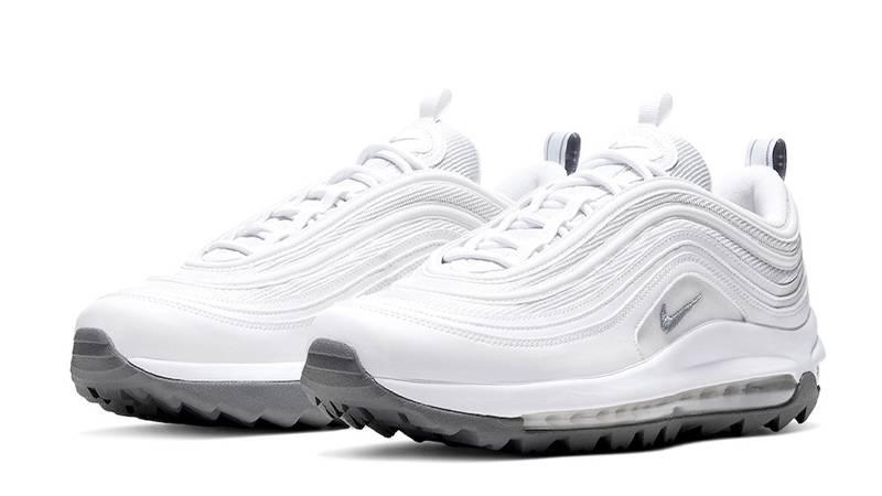 Nike Air Max 97 Golf Triple White Front