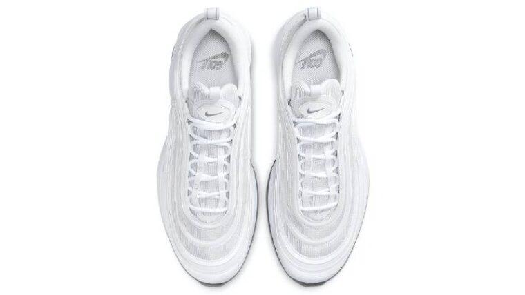 Nike Air Max 97 Golf Triple White Middle thumbnail image