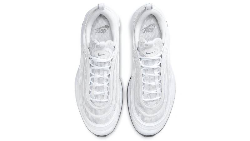 Nike Air Max 97 Golf Triple White Middle