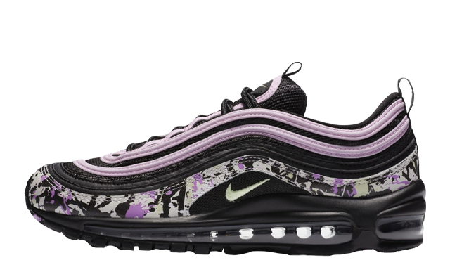 Nike Air Max 97 Paint Splatter Black Pink