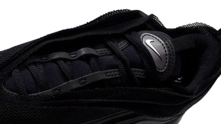 Nike Air Max 97 Sakura Black Closeup thumbnail image