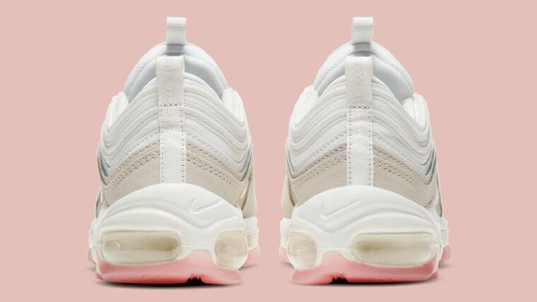 Nike Air Max 97 White Pink Back thumbnail image