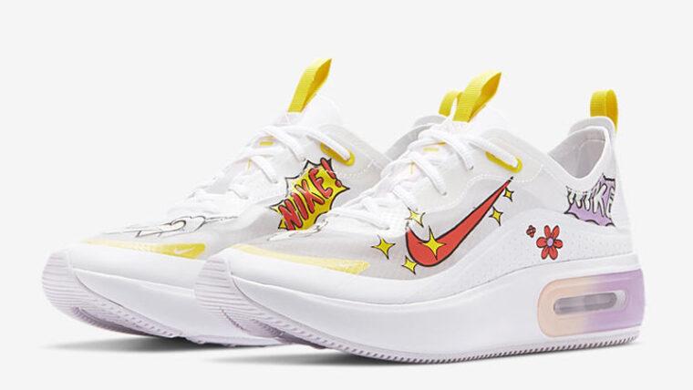 Nike Air Max Dia SE White Magic Ember Front thumbnail image