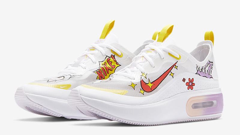 Nike Air Max Dia SE White Magic Ember Front