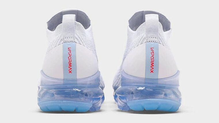 Nike Air VaporMax Flyknit 3 One Of One White Back thumbnail image