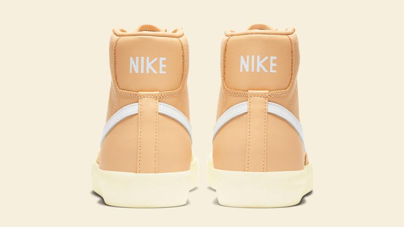 Nike Blazer Mid 77 Butter Canvas Back