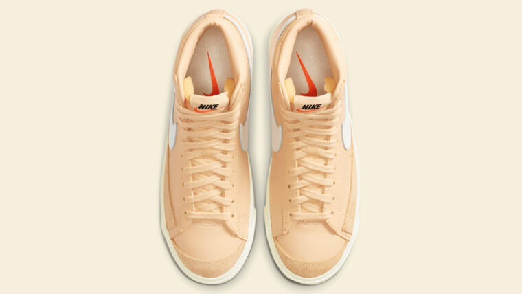 Nike Blazer Mid 77 Butter Canvas Middle thumbnail image