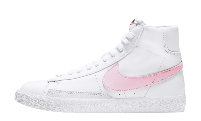 Nike Blazer Mid GS White Pink Foam