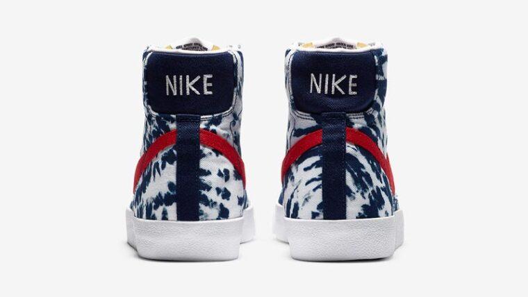 Nike Blazer Mid Tie Dye Back thumbnail image