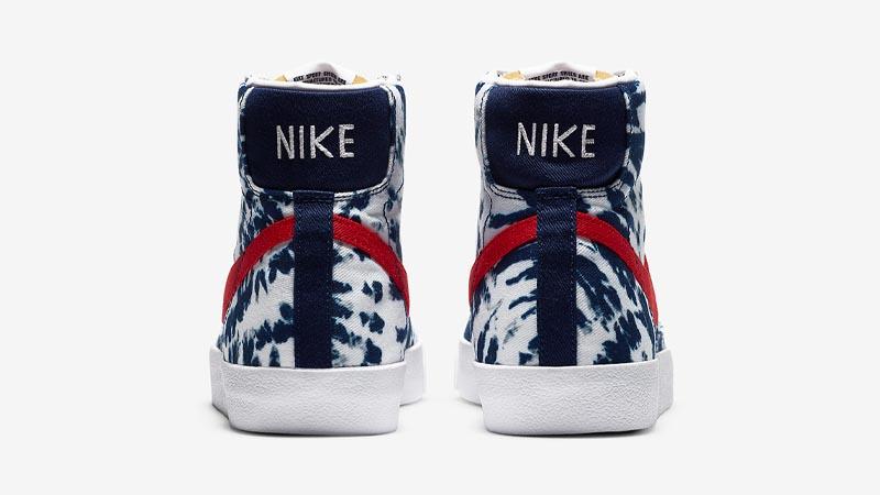 Nike Blazer Mid Tie Dye Back