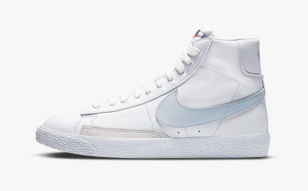 Nike Blazer Mid White Celestine Blue