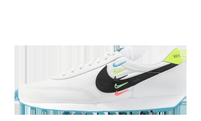 Nike Daybreak Worldwide White Blue Fury Volt