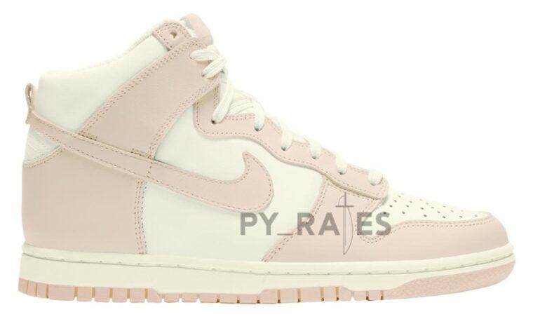 Nike Dunk High Sail Pink
