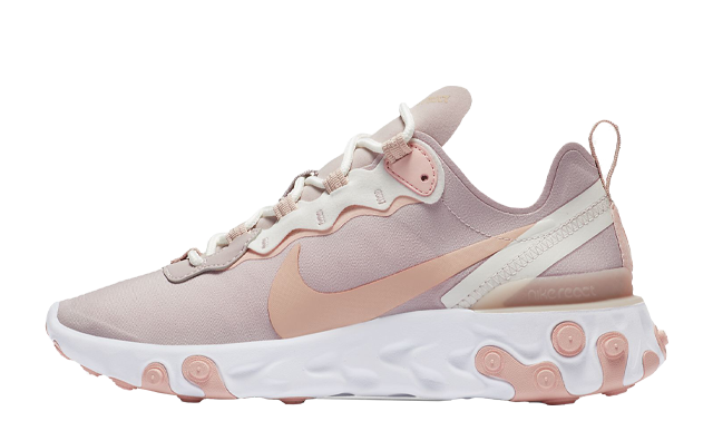 Nike React Element 55 Platinum Violet