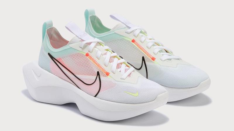 Nike Vista Lite Bright Crimson Barely Volt Front