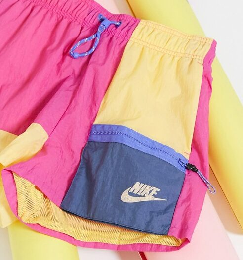 Nike colourblock shorts