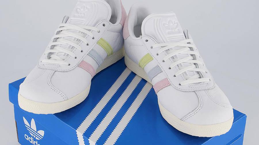 OFFICE LOVES LONDON x adidas Gazelle W11 1la White Clear Pink ...