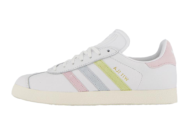 OFFICE LOVES LONDON x adidas Gazelle W11 1la White Clear Pink