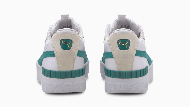 Puma Cali Sport Teal Green Back