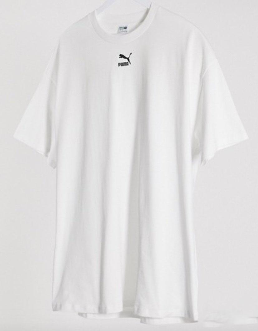 Puma Logo T-Shirt White