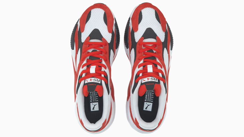 Puma RS-X3 Super White Red Middle