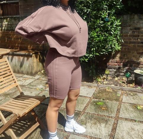 adidas Plus Bike Shorts Brown