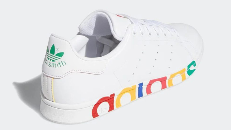 adidas Stan Smith Olympic Pack White Back