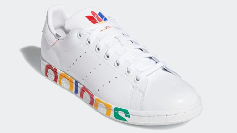 adidas Stan Smith Olympic Pack White Front thumbnail image