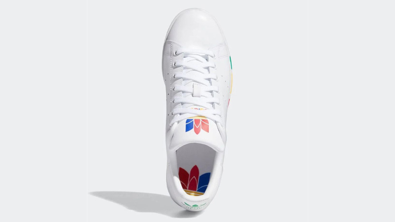 adidas Stan Smith Olympic Pack White Middle