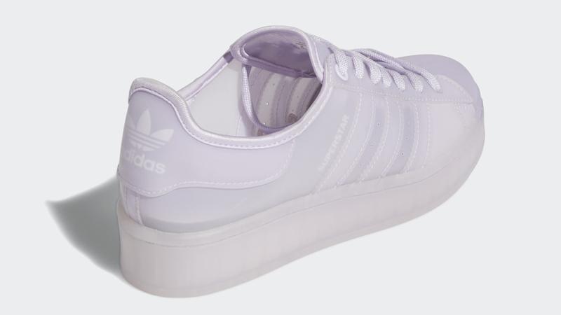 adidas Superstar Jelly Purple Tint Back