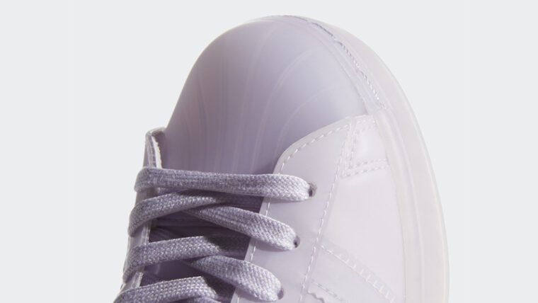 adidas Superstar Jelly Purple Tint Closeup thumbnail image