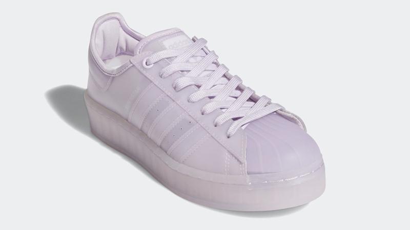 adidas Superstar Jelly Purple Tint Front