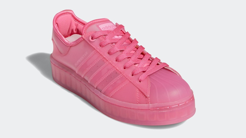 adidas Superstar Jelly Semi Solar Pink Front
