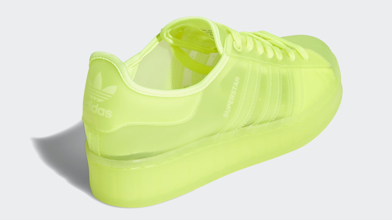adidas Superstar Jelly Solar Yellow Back