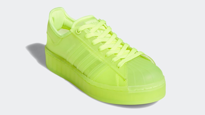 adidas Superstar Jelly Solar Yellow Front