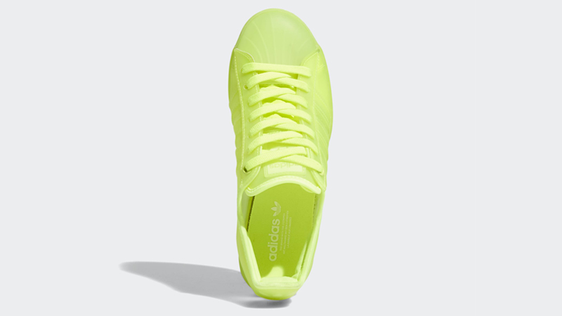 adidas Superstar Jelly Solar Yellow Middle