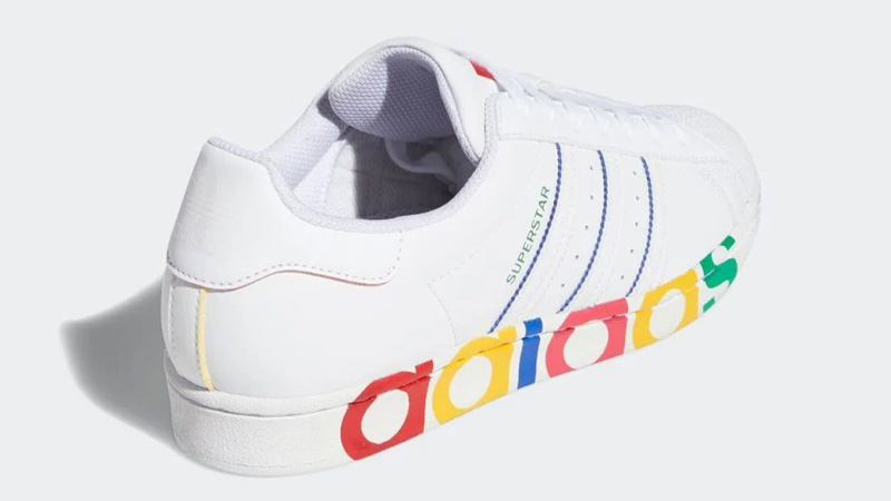 adidas Superstar Olympic Pack White Back