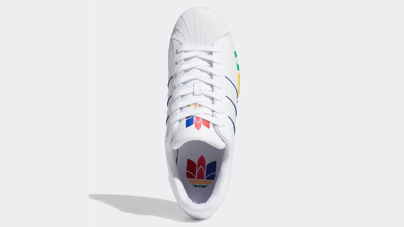 adidas Superstar Olympic Pack White Middle