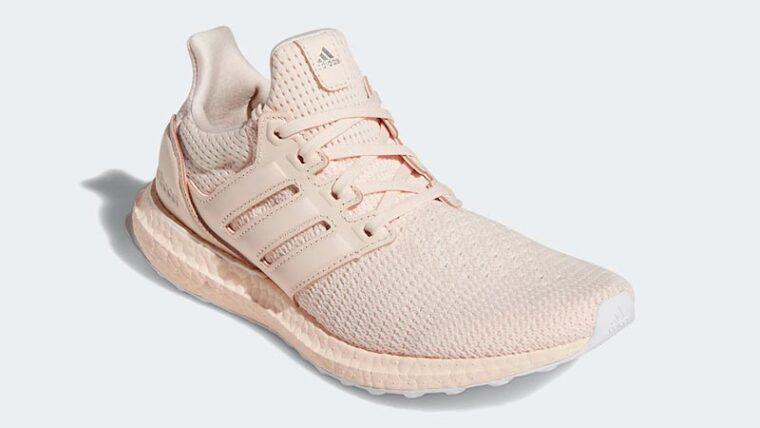 adidas Ultra Boost Pink Tint Front thumbnail image