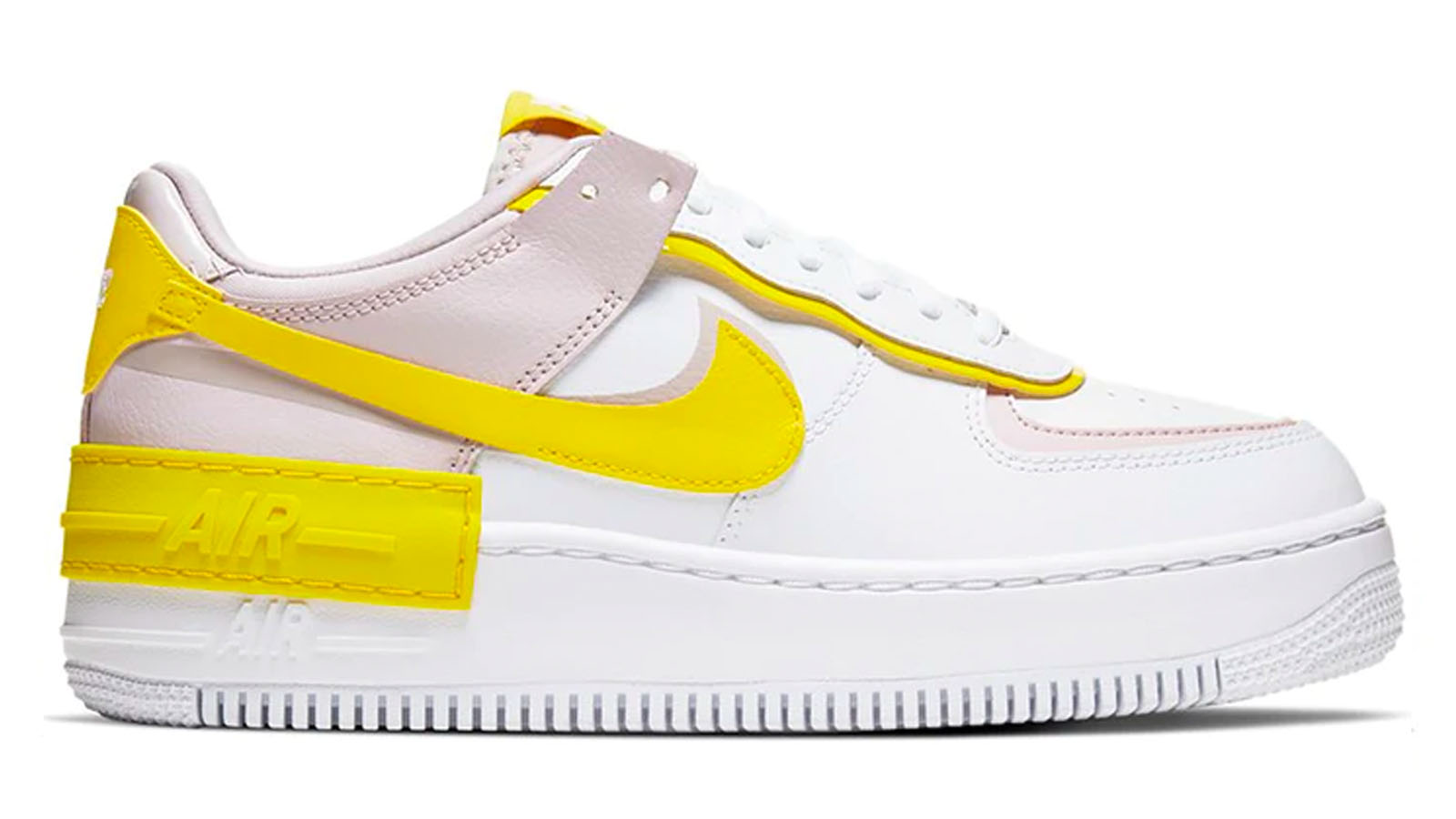 neon yellow af1 shadow